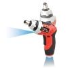 EUROXไขควงไร้สาย3.6 V IIรุ่นLi-Ion Cordless Screw Driver สีแดง/ดำ