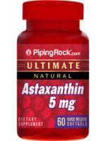 สารมหัศจรรย์ที่มีประสิทธิภาพในการต้านอนุมูลอิสระสูงที่สุด (Astaxanthin) 5 mg | 60 Softgels