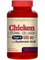 บำรุงเซลล์กระดูกอ่อนและข้อต่อ (ชิกเก้น คอลลาเจน ชนิด 2 พร้อมกรดไฮยาลูโรนิก) 500 mg | 120 แคปซูล
