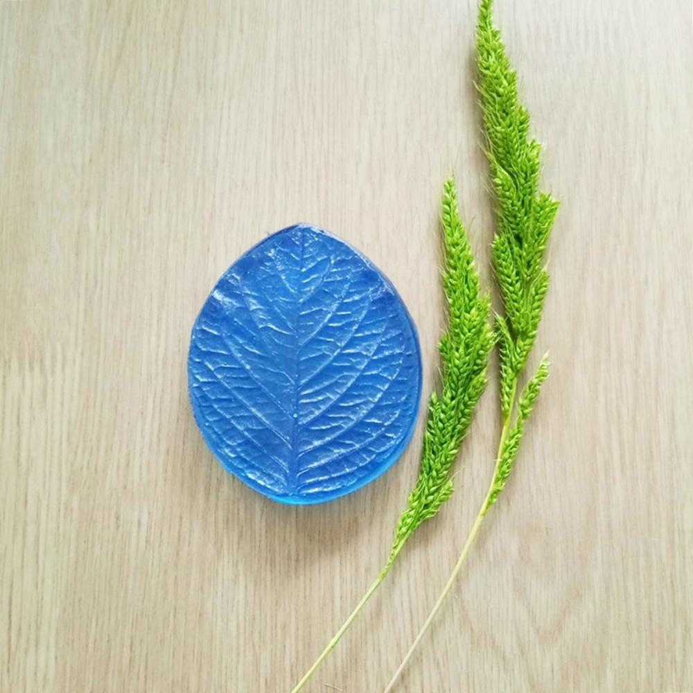 ลายเรซิ่น ใบไฮเดรนเยีย S (Hydrangea leaf S mold)