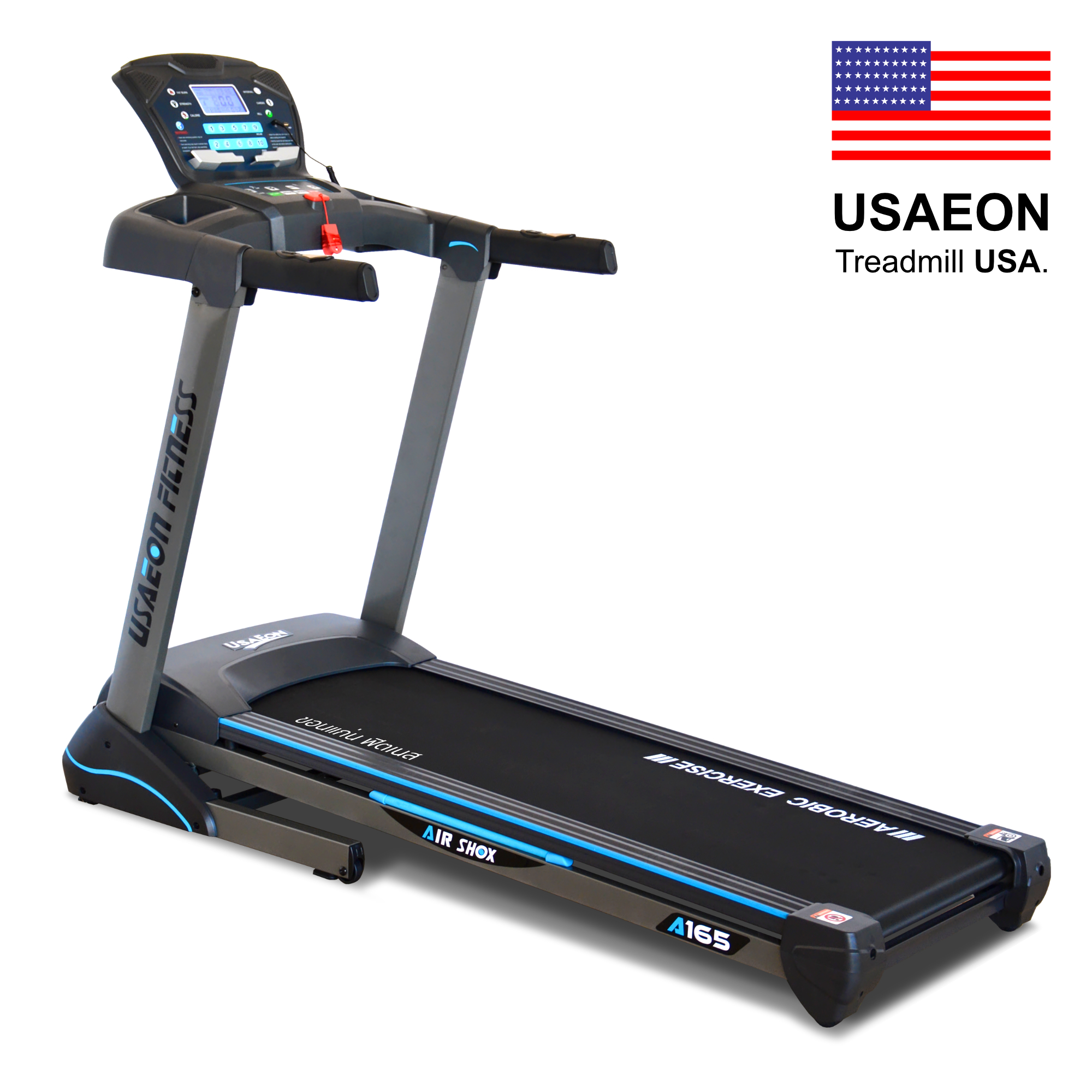 ลู่วิ่งไฟฟ้า : USAEON Fitness A165 - 2.5 HP (DC)