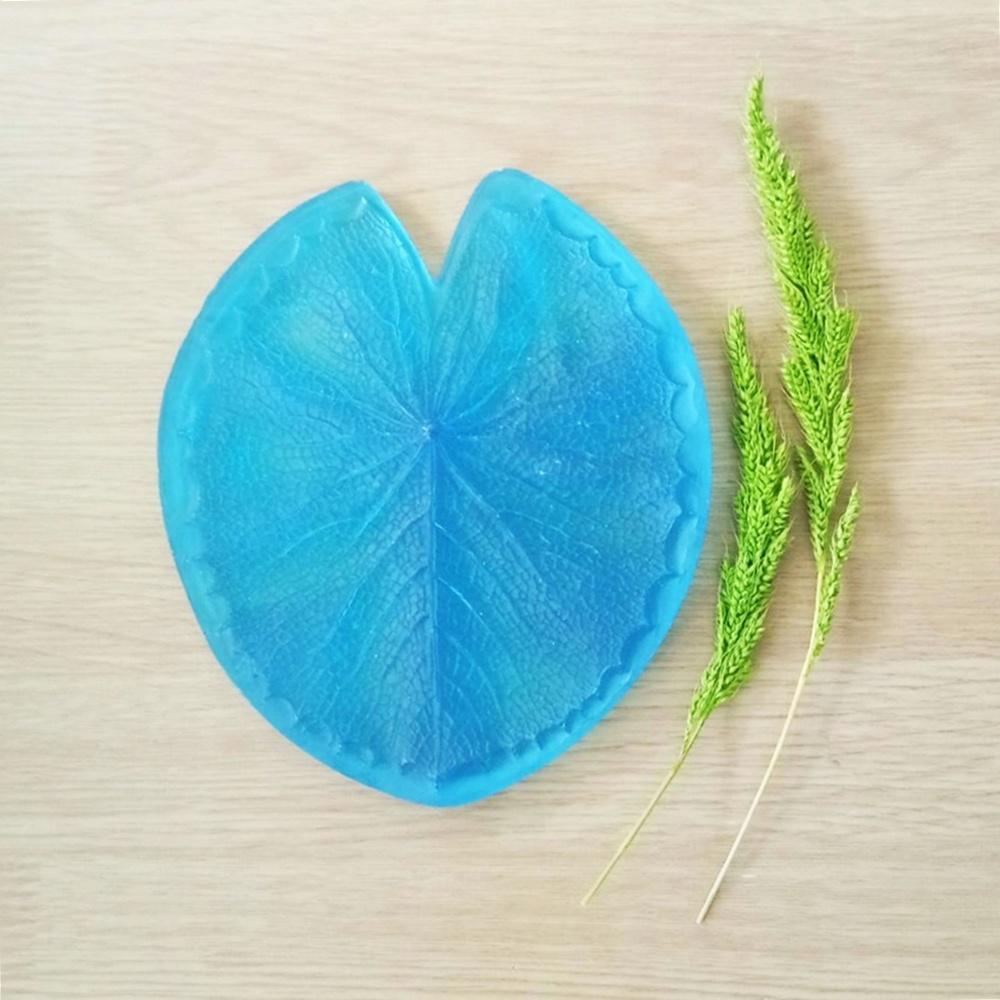 ลายเรซิ่น ใบบัวสาย L (Water lily leaf L mold)