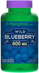 บำรุงเซลล์สมอง ใช้สายตาหนัก (ผลบลูเบอร์รี่ป่า) 600 mg | 120 แคปซูล