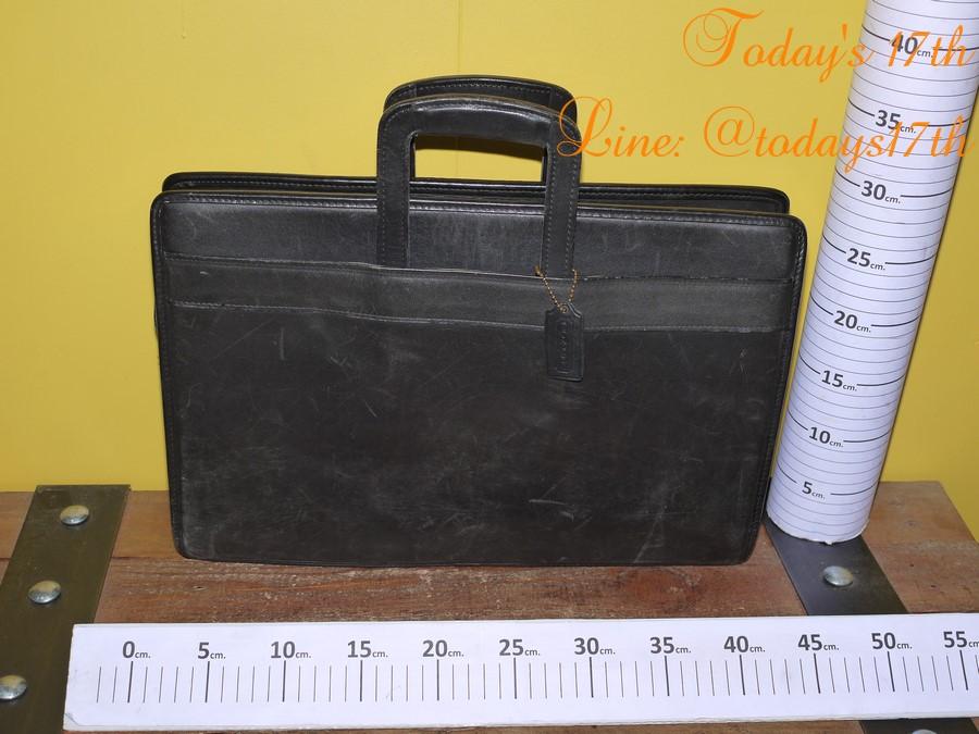 กระเป๋าเอกสารหนังแท้ Coach (Vintage)