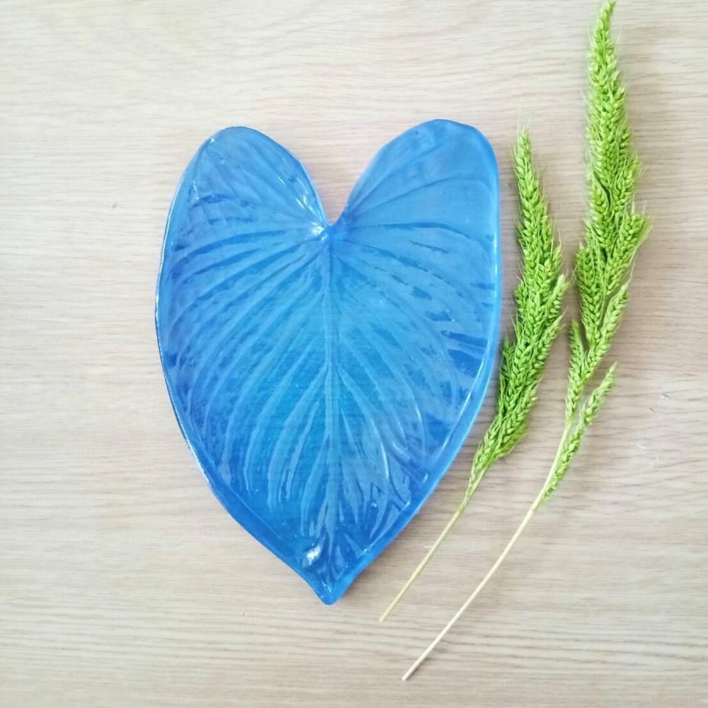 ลายเรซิ่น ใบคาล่า S (Calla leaf S mold)