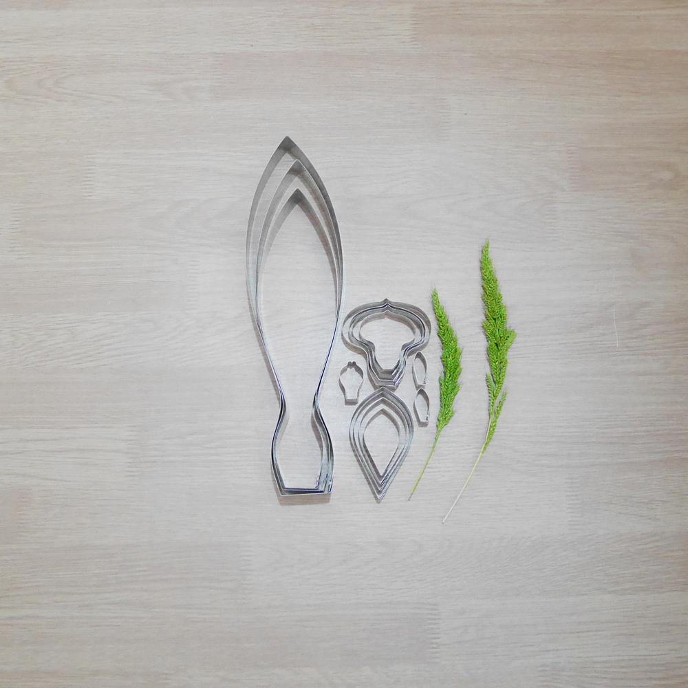พิมพ์ตัด กระเจียว S (ปทุมา) (Siam Tulip S cutter)