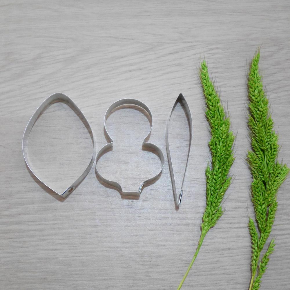 พิมพ์ตัด ดอกแคททลียา l (เล็ก) (Cattleya flower l (small) cutter)