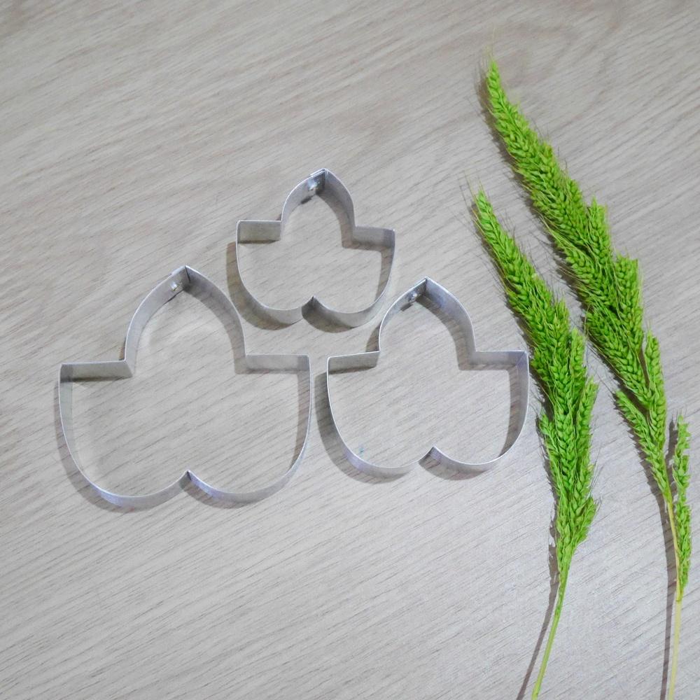 พิมพ์ตัด ใบมอร์นิ่งกลอรี่กลาง (Morning Glory leaf M cutter)