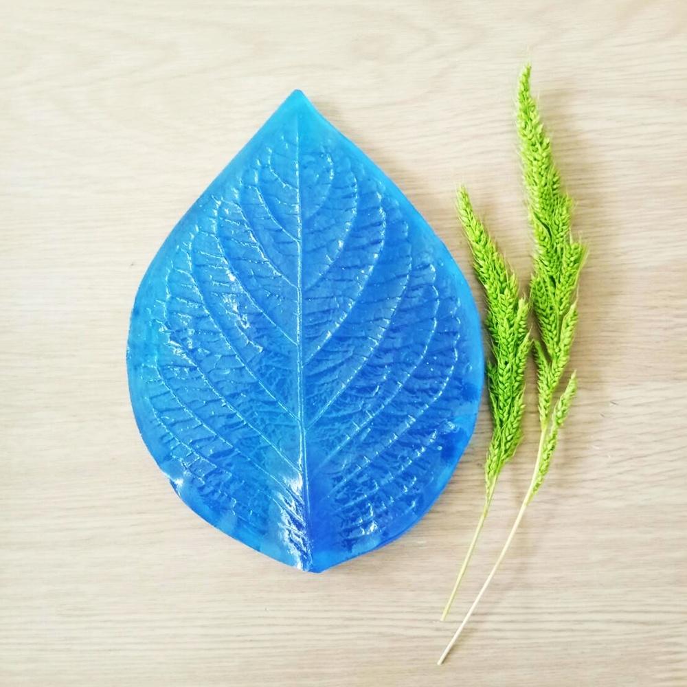 ลายเรซิ่น ใบทานตะวัน XL (Sun flower leaf XL mold)