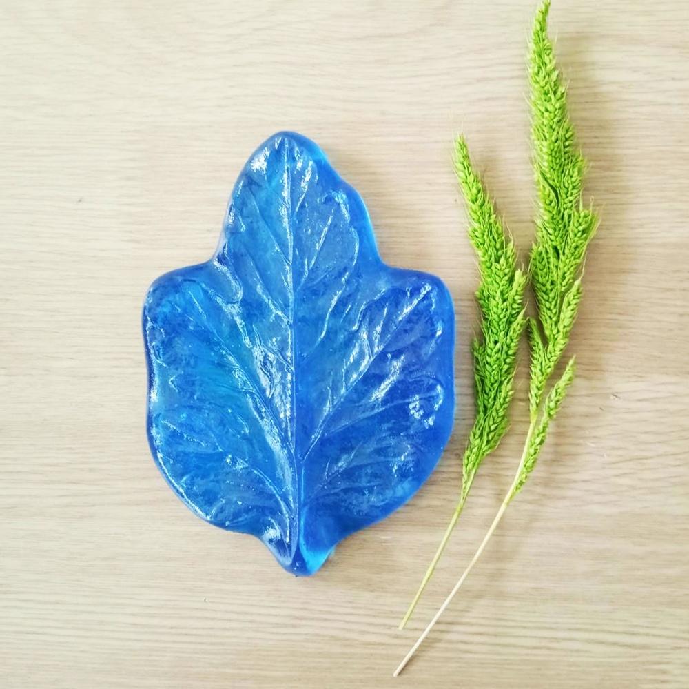 ลายเรซิ่น ใบดาห์เลีย (Dahlia leaf mold)