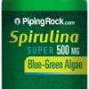 สาหร่ายเกลียวทอง (Spirulina) 500 mg | 300 Tablets