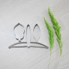 พิมพ์ตัด เอื้องสายม่วง (Den. Lituiflorum Lindl cutter)