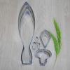 พิมพ์ตัด กระเจียว M (ปทุมา) (Siam Tulip M cutter)