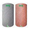ถังเก็บน้ำ DOS SILVER NANO NATURA NSN(HY-01/RD-1000L) แกรนิตแดง (แถมลูกลอย)
