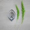 พิมพ์ตัด ใบมะลิ L (Jasmin leaf L cutter)