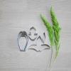 พิมพ์ตัด เอื้องปากนกแก้ว (Dendrobium Cruentum cutter)