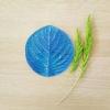 ลายเรซิ่น ใบไฮเดรนเยีย L (Hidrangea Leaf L mold)
