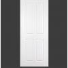 ประตู uPVC 4 ช่องตรงเรียบ GU-005/205 70*200 สีขาว ไม่เจาะลูกบิด Green Plastwood