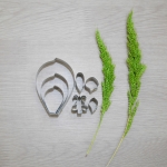 พิมพ์ตัด ฟาแลนอปซีส S (Phalaenopsis S-new pattern cutter)