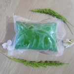 ดินไทยผสมสีเขียว (Thai clay mix green color)