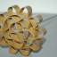 พิมพ์ดอกจอก ทองเหลือง เบอร์ 3 เส้นผ่านศูนย์กลาง 8.5 ซม. thumbnail 3