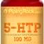 ช่วยให้หลับลึก ลดปัญหาโรคซึมเศร้า ( 5-HTP ) 100 mg. | 100 แคปซูล