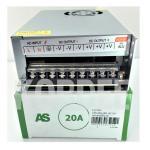 หม้อแปลง LED 12V 20A (อแดปเตอร์) LVC