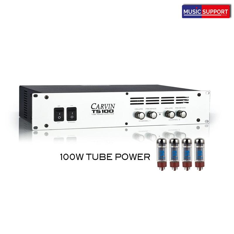 พาวเวอร์แอมป์กีต้าร์ไฟฟ้า TS100 100w Tube Power Amp