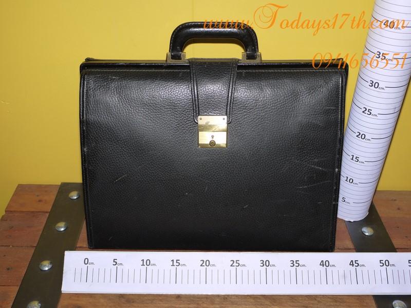 กระเป๋าถือหนังแท้ใส่เอกสาร