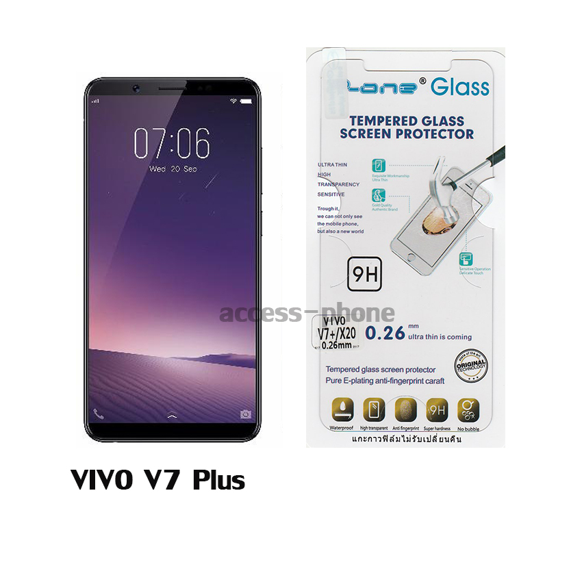 P-one ฟิล์มกระจก VIVO V7 Plus