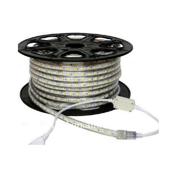 ไฟท่อยางแบน SMD5050 แสงวอร์ม LVC