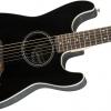 กีต้าร์โปร่งไฟฟ้า Fender STRATACOUSTICBLACK