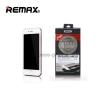 Remax ฟิล์มกระจกนิรภัย 3D for iPhone 7 Plus เต็มจอ ขอบโค้ง (สีขาว)