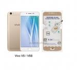 P-one ฟิล์มกระจก Vivo V5/V5S เต็มจอสีทอง
