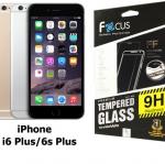 Focus FULL FRAME ฟิล์มกระจกนิรภัย iPhone 6 Plus/ 6s Plus เต็มจอ (สีดำ)