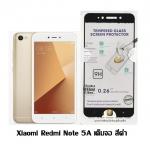 P-one ฟิล์มกระจกเต็มจอ Xiaomi Red Mi Note 5A สีดำ
