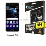 Focus FF ฟิล์มกระจกนิรภัย Huawei P10 เต็มจอ (สีขาว)