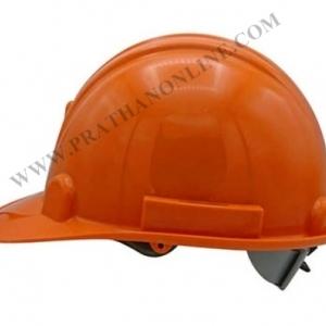 หมวกนิรภัย A-TAP ปรับเลื่อนสีส้ม มอก.