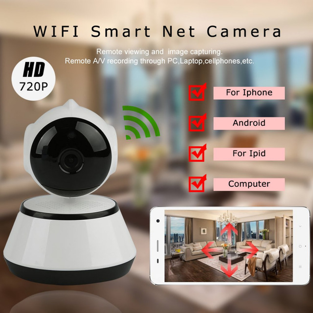 P2P V380 HD 960P Mini IP Camera Wifi Camera Wireless Security